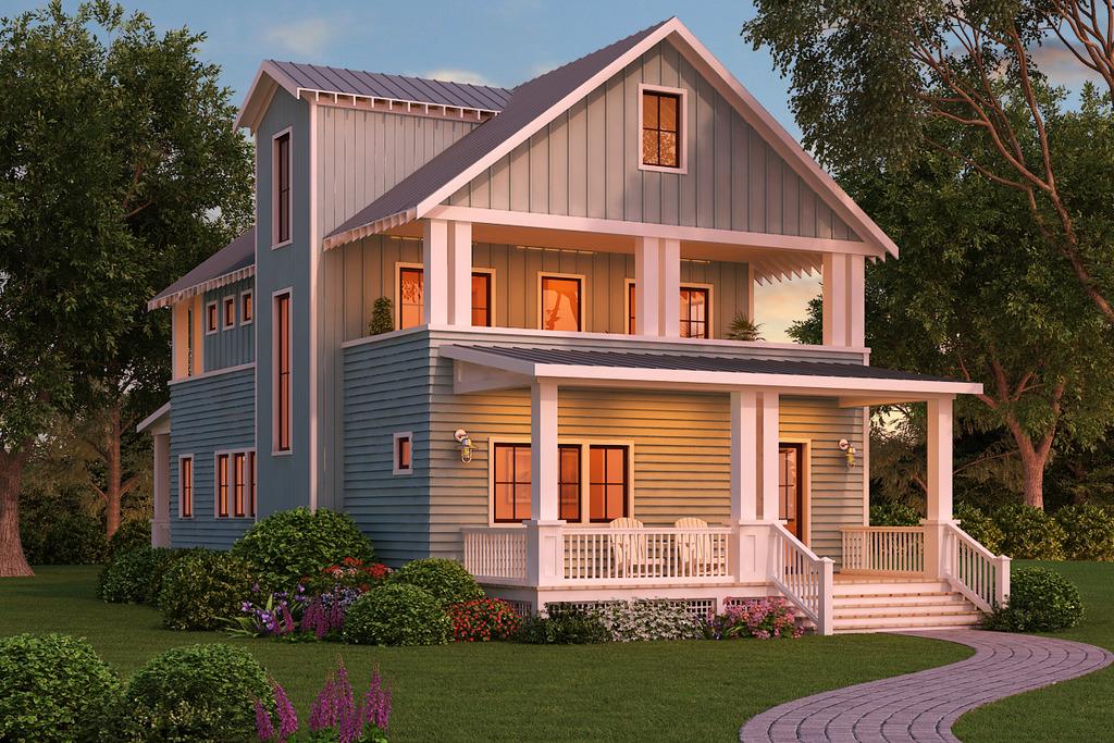 Mẫu nhà gỗ sang trọng