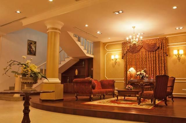 nội thất biệt thự cổ điển 3 tầng 15x20m