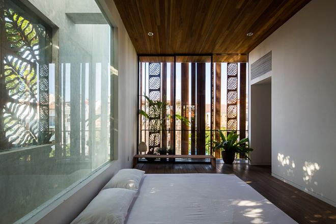 phòng ngủ master trong nhà lô