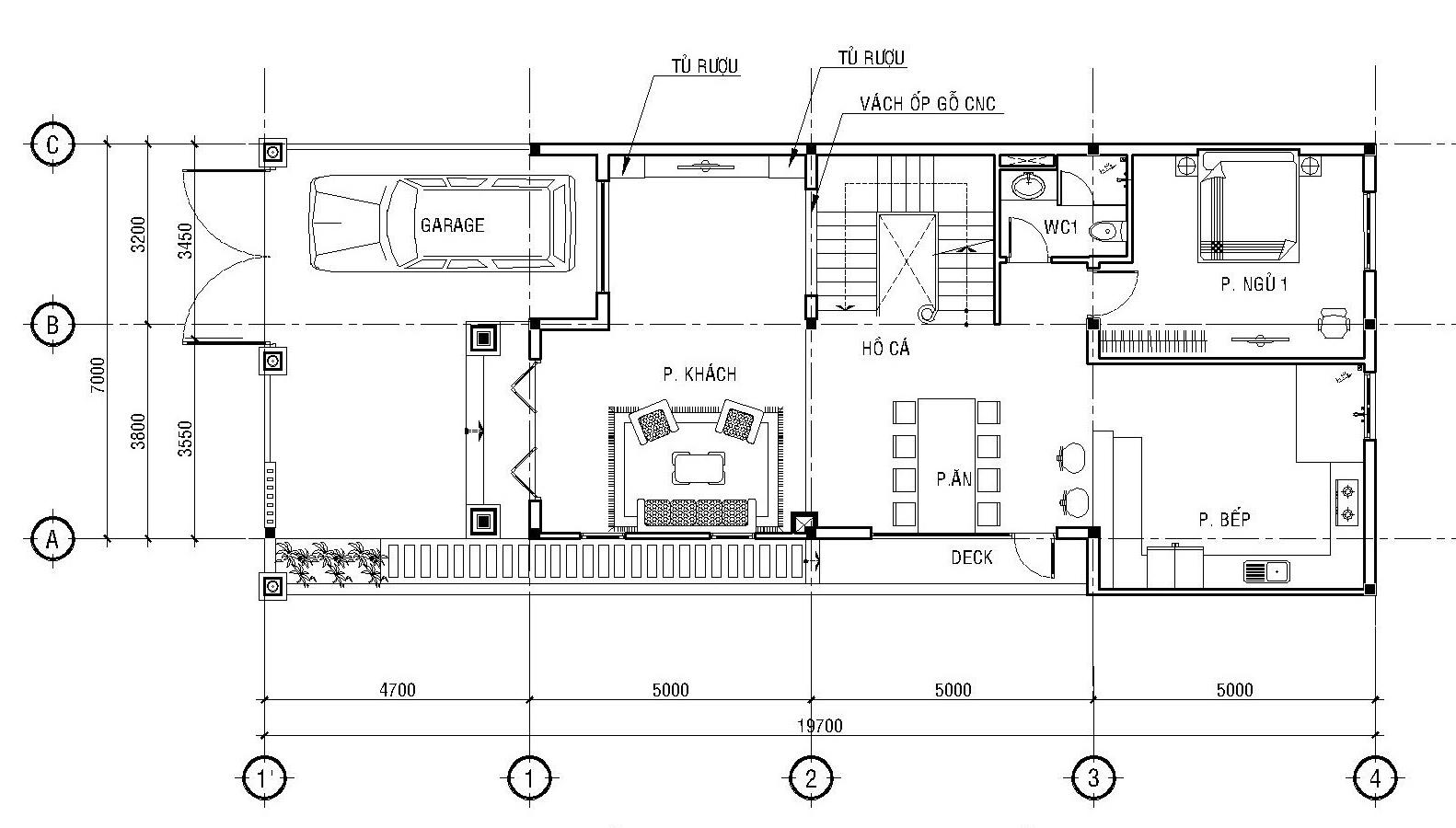 Biệt thự phố mặt tiền 8m, 3 tầng đẹp