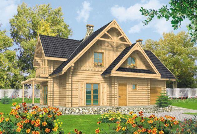 mẫu nhà cấp 4 đẹp tường ốp bằng gỗ
