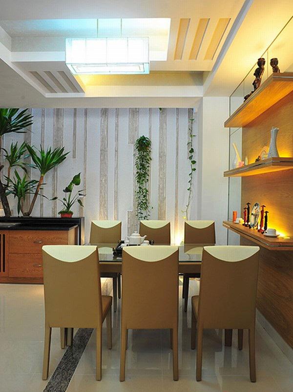 Nội thất bếp ăn đẹp cho mẫu nhà ống 3 tầng 5,3x18m