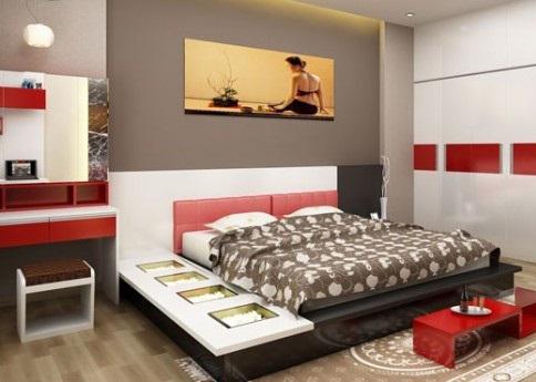 Thiết kế phòng ngủ đẹp mẫu nhà phố 5 tầng đẹp có hầm gara diện tích 5x15m
