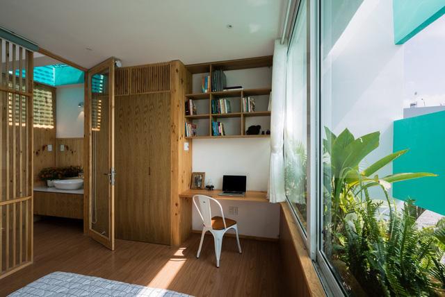 không gian nội thất trong nhà lô