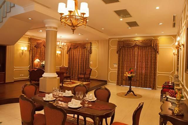 thiết kế nội thất biệt thự cổ điển 3 tầng 15x20m